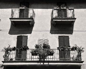 Italië balkon von Frank de Ridder