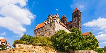 Schloss und Stiftskirche St. Servatius in Quedlinburg von Werner Dieterich