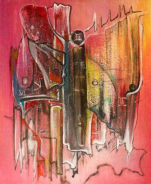 Gezichten, kleuren en nummers van Cora Unk