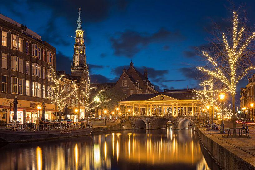 Golden light of Leiden von Erik Brons