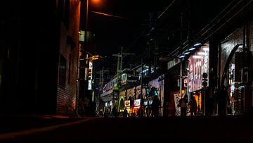 Japan in de nacht van Maikel van Maanen