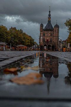 Herfst in Deventer van Manuuu S