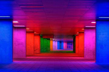 Perspectief in kleuren II von André Scherpenberg