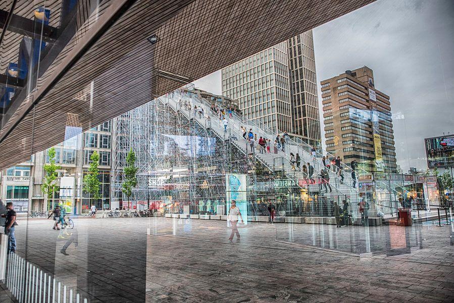 Rotterdam viert de stad, De Trap / Rotterdam celebrates the city, The Stairs von Geertjan Kuper