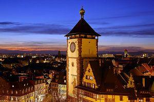 Schwabentor Freiburg van