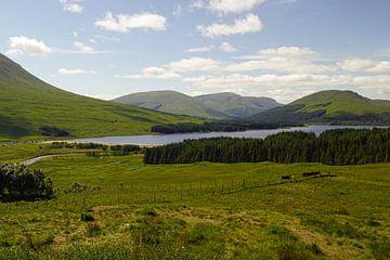 Landschaft im Glen Coe in Schottland. von Babetts Bildergalerie