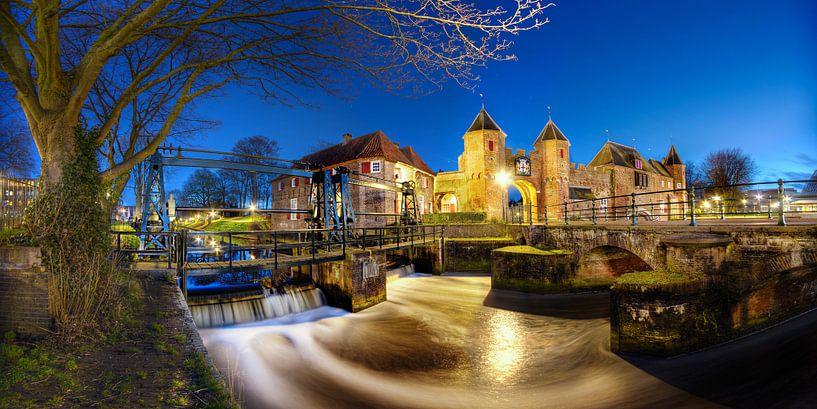 Medieval gates (panorama II) sur Sjoerd Mouissie