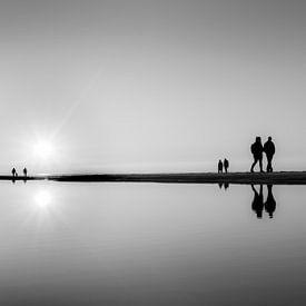 Sunset walk BNW van Jeanette van Starkenburg