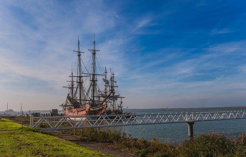 Batavia V.O.C. schip Lelystad van Brian Morgan