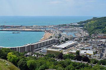 Blick auf den Hafen von Dover von Judith Cool