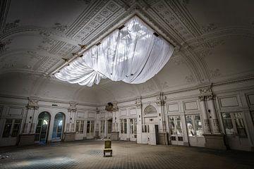 Großer Saal im Hotel von Inge van den Brande