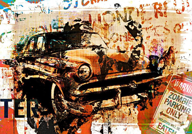 Zombie parking only von PictureWork - Digital artist