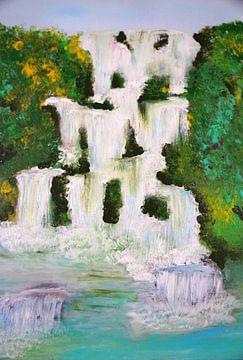 Wasserfall von Babetts Bildergalerie