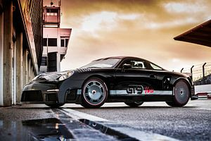 9ff GT9 Vmax op Circuitpark Zandvoort