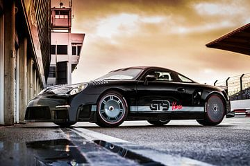 9ff GT9 Vmax op Circuitpark Zandvoort von