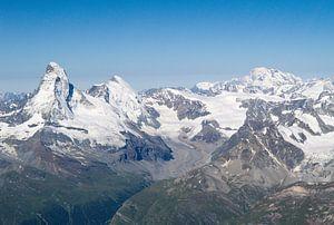 Matterhorn en Mont Blanc