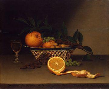 Stilleven met sinaasappels, Raphaelle Peale van