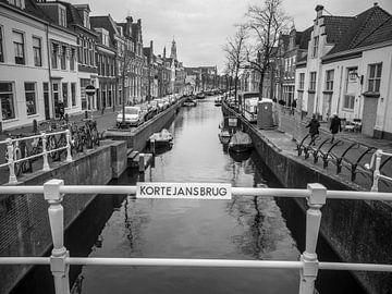 Kanal in Haarlem von Martijn Tilroe