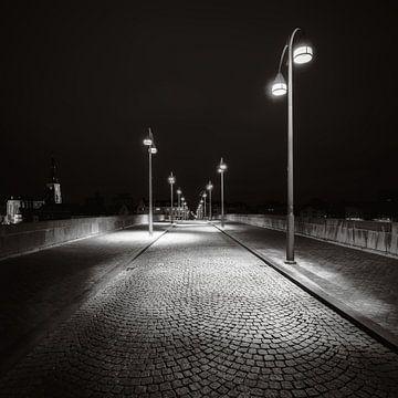 Maastricht - Sint Servaasbrug - moody zwart en wit II