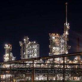 Rotterdamer Industrie 7 von Olga Drop