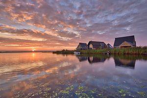 zonsopgang in Meerstad