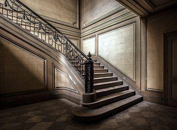 Treppe 2 in Farbe von Olivier Van Cauwelaert
