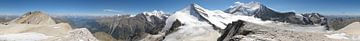 Glacier of Wallis (Vallis) - Panorama van Christian Moosmüller