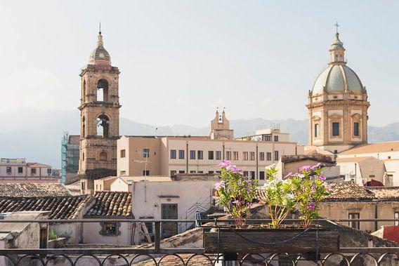 Uitzicht in Palermo