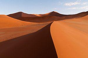 Sand dunes of Sossusvlei van Damien Franscoise