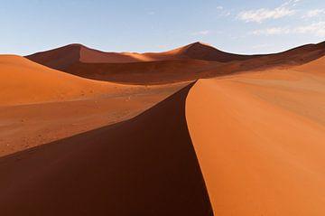 Sand dunes of Sossusvlei van