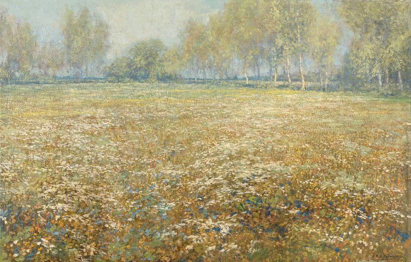 Bloeiende weide, Egbert Rubertus Derk Schaap van Hollandse Meesters