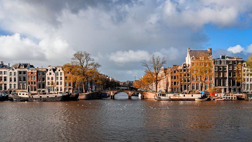 Keizersgracht stadsfoto Amsterdam  van Ipo Reinhold