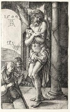 Der Schmerzensmann an der Säule, Albrecht Dürer von De Canon