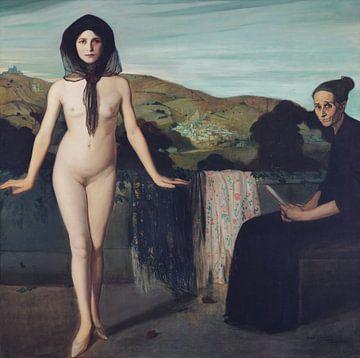Nackter Tänzer, Ángel Zarraga - 1907-1909 von Atelier Liesjes