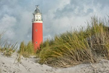 Vuurtoren Eierland Texel van Joachim G. Pinkawa