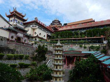 Chinesischer Tempel van Christine Volpert