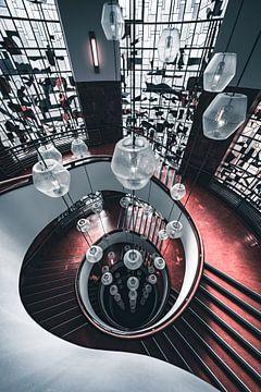 escalier en colimaçon école secondaire rotterdam sur vedar cvetanovic