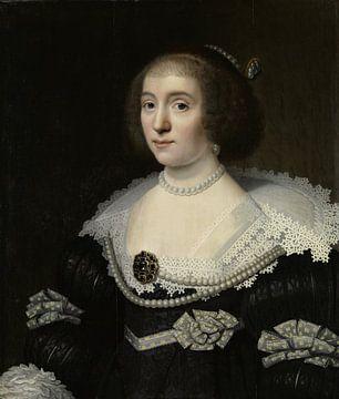 Amalia van Solms - Michiel Jansz. van Mierevelt