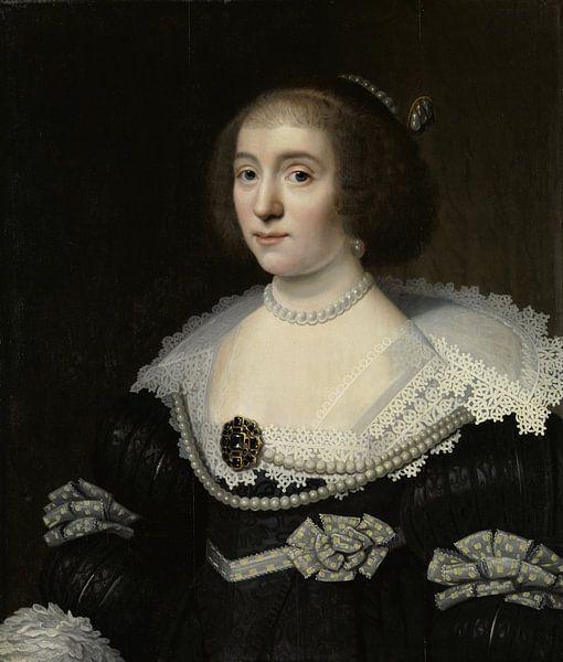 Amalia van Solms - Michiel Jansz. van Mierevelt von Marieke de Koning
