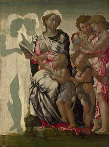 Madonna Manchester, Michelangelo Buonarotti