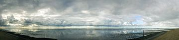 Waddenzee bij Wierum van Wolbert Erich