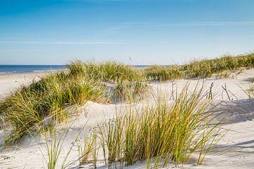 Zandduinen in de Noordzee van Ursula Reins