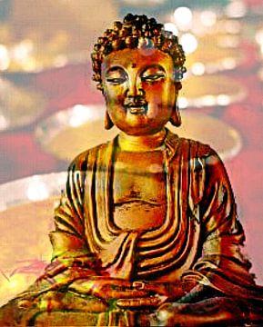 Buddha 2 van Doris Kroos