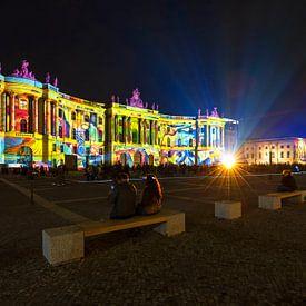 Bebelplatz Berlin in besonderem Licht von Frank Herrmann