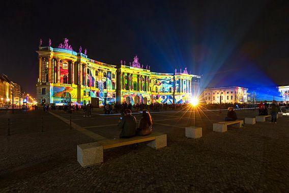 Bebelplatz Berlijn in een bijzonder licht