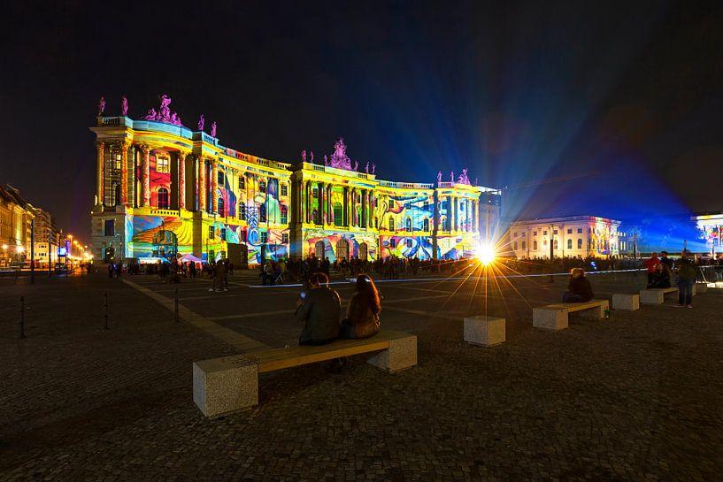 Bebelplatz Berlijn in een bijzonder licht van Frank Herrmann
