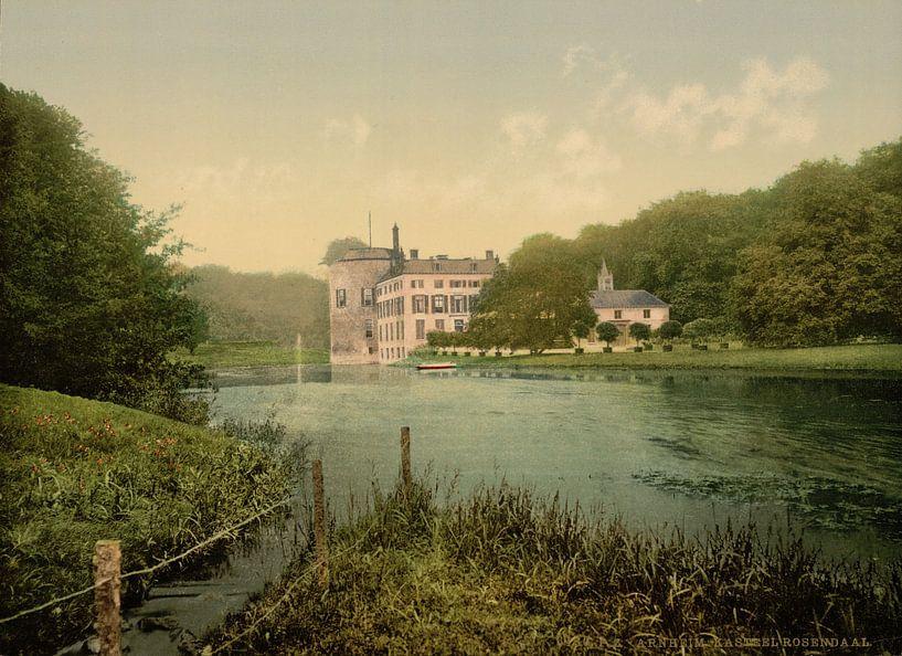 Kasteel Rosendael, Arnhem van Vintage Afbeeldingen