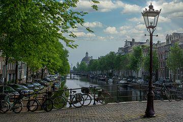 Singel Amsterdam van Foto Amsterdam / Peter Bartelings