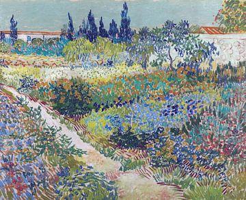 Garten bei Arles - Vincent van Gogh