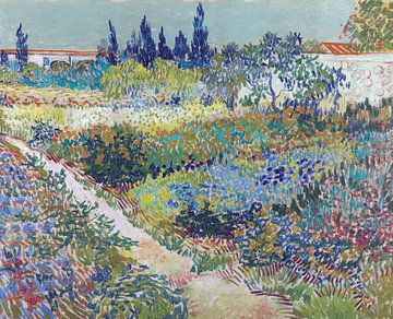 Vincent van Gogh.  Garden at Arles sur